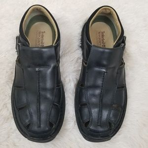 Timberland Shoes - Timberland Black Leather Sandals